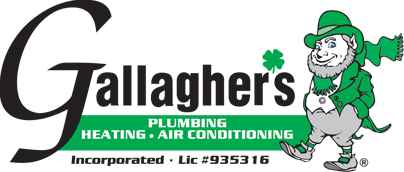 Gallagher's Plumbing, Heating and Air Conditioning logo